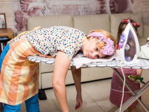 гладить белье