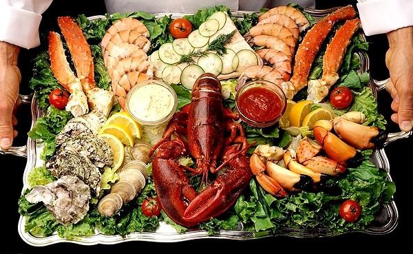 как готовить морской коктейль, рецепты
