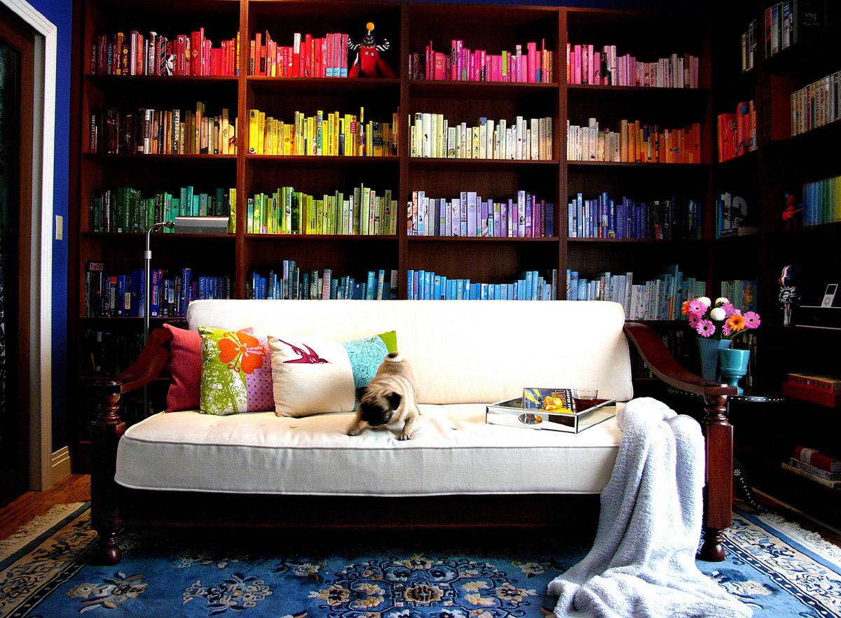 как организовать домашнюю библиотеку