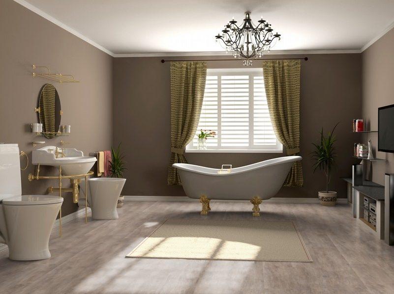обновить ванную бюджетно