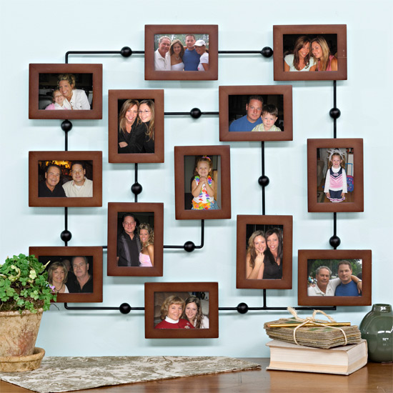 Фотографии на стене оформление своими руками