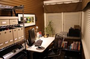 интерьер рабочего уголка дома