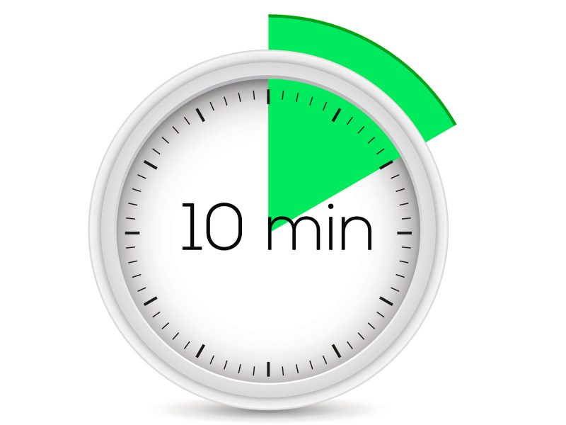 что можно сделать за 10 минут