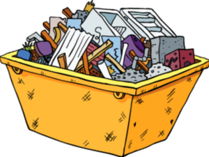 ящик с мелочами в доме
