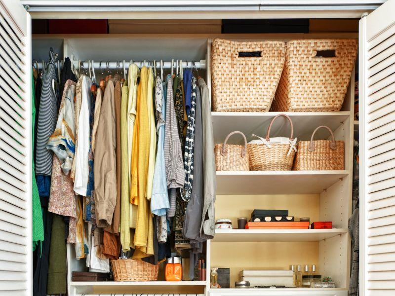 организовать шкаф